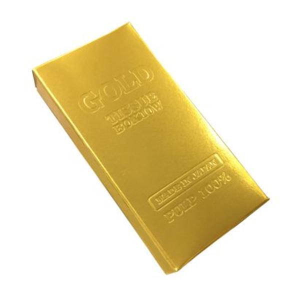 お金シリーズ ミニミニゴールド BOXティッシュ 400個入 7130 メーカ直送品  代引き不可/同梱不可
