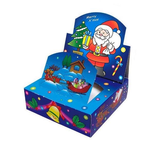 ハッピークリスマス 遊ティッシュ新クリスマス BOXティッシュ 100個入 7080 代引き不可/同梱不可