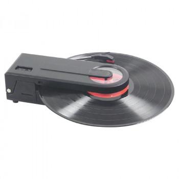 持ち運びも便利なコンパクトサイズ 倉庫 どこでもレコードが聴けるプレーヤー USB お中元 SD録音機能付 代引き不可 メーカ直送品 同梱不可 PT-208E