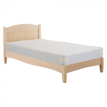 HOMEDAY ベッド(マットなし) WHW(ホワイトウォッシュ) BH-562-S メーカ直送品  代引き不可/同梱不可