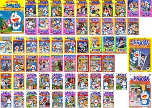 TV版 ドラえもん 60枚セット Vol.1~60【全巻セット アニメ 中古 DVD】送料無料 レンタル落ち