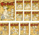 はじめ人間ギャートルズ 11枚セット 第1話~第134話 最終【全巻セット アニメ 中古 DVD】送料無料 レンタル落ち