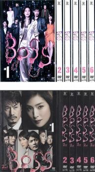 BOSS ボス 12枚セット 1、2【全巻セット 邦画 中古 DVD】送料無料 レンタル落ち