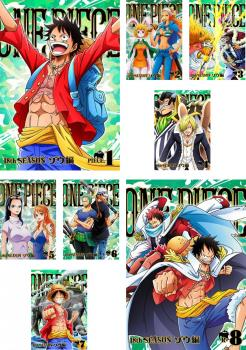 ONE PIECE ワンピース 18thシーズン ゾウ編 8枚セット 第751話~第782話【全巻セット アニメ 中古 DVD】送料無料 レンタル落ち