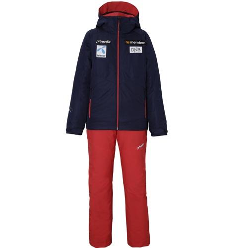 (K)在庫限り 19-20 フェニックス (PS9G22P80-DN) ジュニアスキースーツ NORWAY ALPINE TEAM BOY'S TWO-PIECE(上下組) ダークネイビー