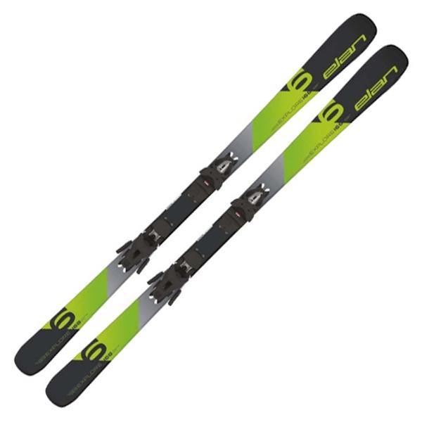 セール 18-19 エラン (ABOEKA18) スキーセット EXPLORE 6 GREEN LIGHT SHIFT+EL9.0 SHIFT GW グリーン (K)