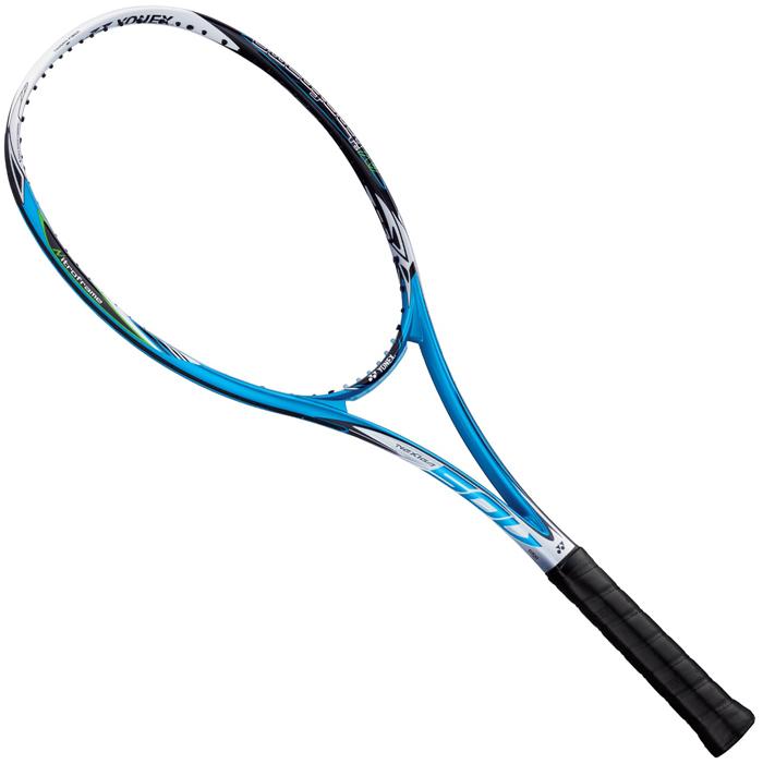 セール ヨネックス (NXG50V-576) ソフトテニスラケット ネクシーガ50V ブライトブルー (K)