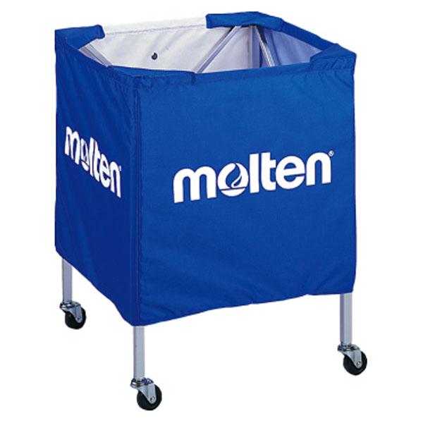 モルテン(Molten) 折りたたみ式ボールカゴ(小) 青 (mt-bk15vb-) 【MT-BK15VB-】