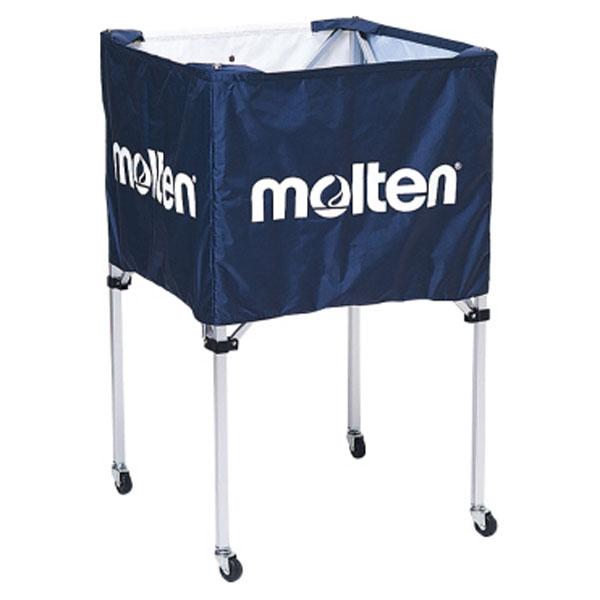 モルテン(Molten) 折りたたみ式ボールカゴ(中・背高) ネイビー (mt-bk20hnv-) 【MT-BK20HNV-】