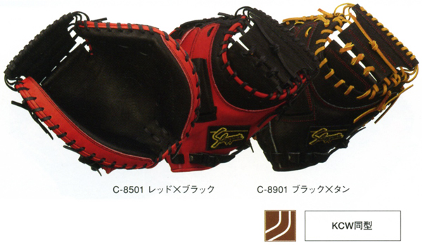 久保田スラッガー 野球 軟式 キャッチャーミット KSM-122 捕手用 【黒】【他カラー】 【KSM122】