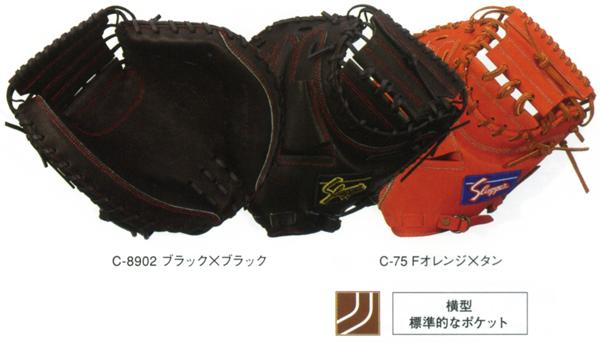久保田スラッガー 野球 軟式 キャッチャーミット KSM-622 捕手用 【黒】【橙】【他カラー】 【KSM622】