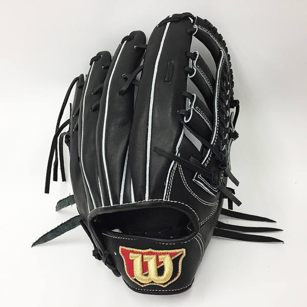 セール 型付け無料 特価 ウィルソン 野球 硬式 グローブ ウィルソン スタッフ 外野手用 8SD ブラック 【黒】 WTAHWQ8SD-90
