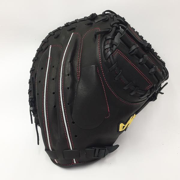 【型付け無料】 人気 ハタケヤマ 野球 軟式 キャッチャーミット TH-288BB ブラック Bバック仕様 捕手用 【黒】 TH-288BB
