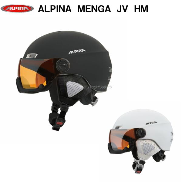 アルピナ スキー ヘルメット バイザー付 MENGA JV HM A9061