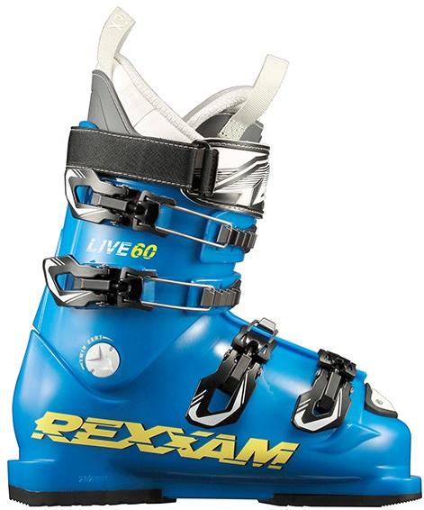 (K) 在庫限り 18-19 レグザム (LIVE60-CXB-BLU) ジュニアスキーブーツ LIVE60 CX-Bインナー ブルー