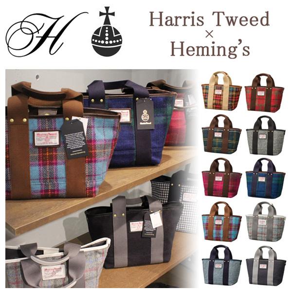 HOARD Harris Tweed ハリスツイード×ヘミングス トートバッグS 40122 40123【レディース】【7,000円以上購入で送料無料】