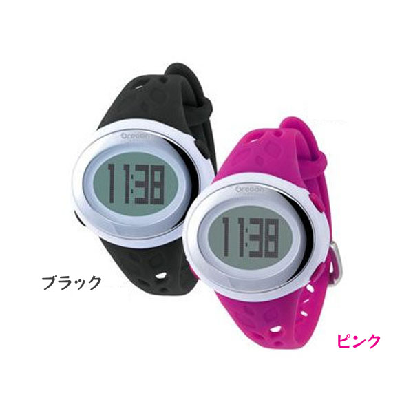 【送料無料】オレゴン 腕時計 心拍計 SE-332 BK・SE-332 PK ブラック・ピンク【HD】【TC】 (タッチパネル)SHUM