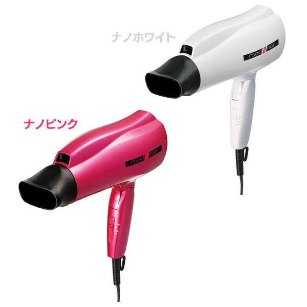 못즈헤아[mods hair]헤어드라이어 살롱 스페셜 MHD-1262 나노 화이트・나노 핑크