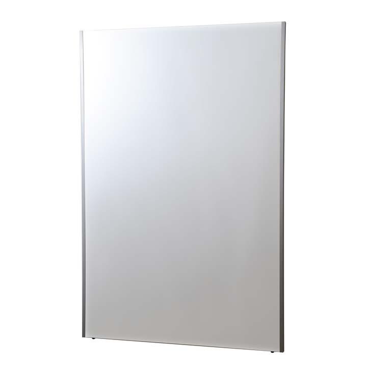 【送料無料】【全身鏡 壁掛け】 割れない軽量ミラー 100×150cm ワイドフラミンゴ シルバー リフェクス(REFEX)【姿見 ミラー 鏡】 NRM-1/S【TD】【代引・時間帯指定不可】