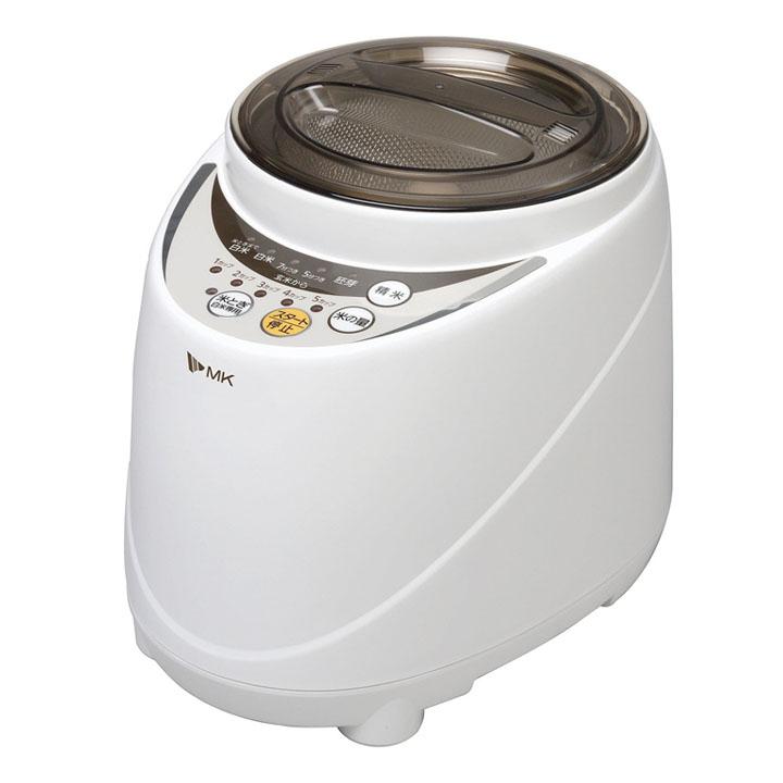 新鮮風味づき SM-500W ホワイト送料無料 精米機 家庭用 精米機遠心分離方式【D】