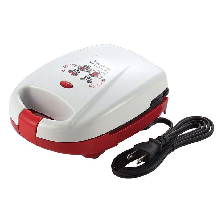 ミッキーマウス&ミニーマウス ホットサンドメーカー・シングル MM-202Rトースト パン 調理器具 キッチン用品 トースト調理器具 トーストキッチン用品 パン調理器具 調理器具トースト キッチン用品トースト 調理器具パン タマハシ