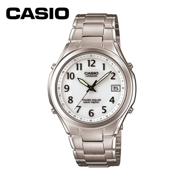 b2273f6a9c メンズ LINEAGE CASIO 腕時計 電波ソーラー腕時計 電波 LIW-120DJ-7A2JF ソーラー 正規品 リニエージ 送料無料 カシオ
