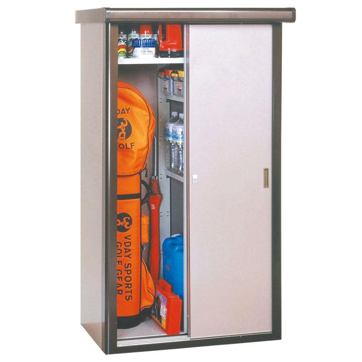 収納庫 ブロンズ DM2-0808送料無料 物置 収納庫 小型 屋外 家庭用 ダイマツ 【TD】 【代引不可】