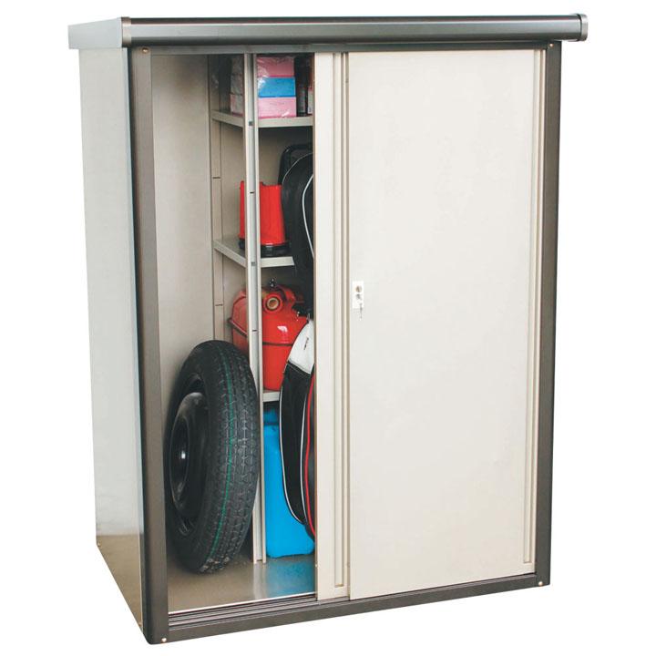 収納庫 ブロンズ DM2-1675送料無料 物置 収納庫 小型 屋外 家庭用 ダイマツ 【TD】 【代引不可】