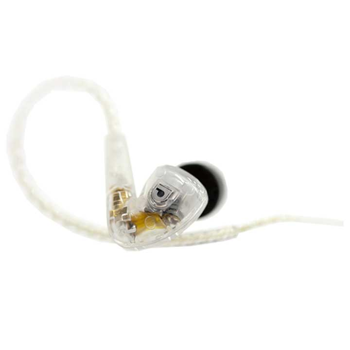 インナーイヤーヘッドホン クリア AF1801-0-10送料無料 イヤホン イヤフォン 音楽 ミュージック 持ち歩き Audiofly 【D】