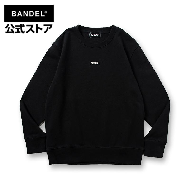 QUIET GOLF CREW NECK Black×Gray ロングTシャツ 長袖 ロング Tシャツ 毎日激安特売で 営業中です BANDEL レディース メンズ バンデル 新色追加 ロンT ファッション