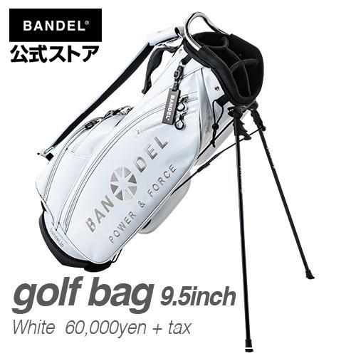 キャディーバッグ スタンドバッグ ゴルフバッグ ホワイト(白い 白) BANDEL 2019 golf bag BANDEL バンデル メンズ レディース スポーツ