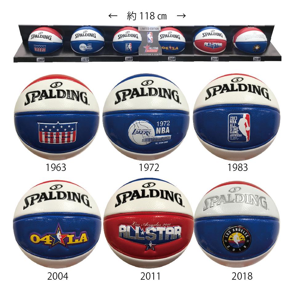 NBA ALLSTAR2018 記念ボールセット オールスター ミニボール6球セット