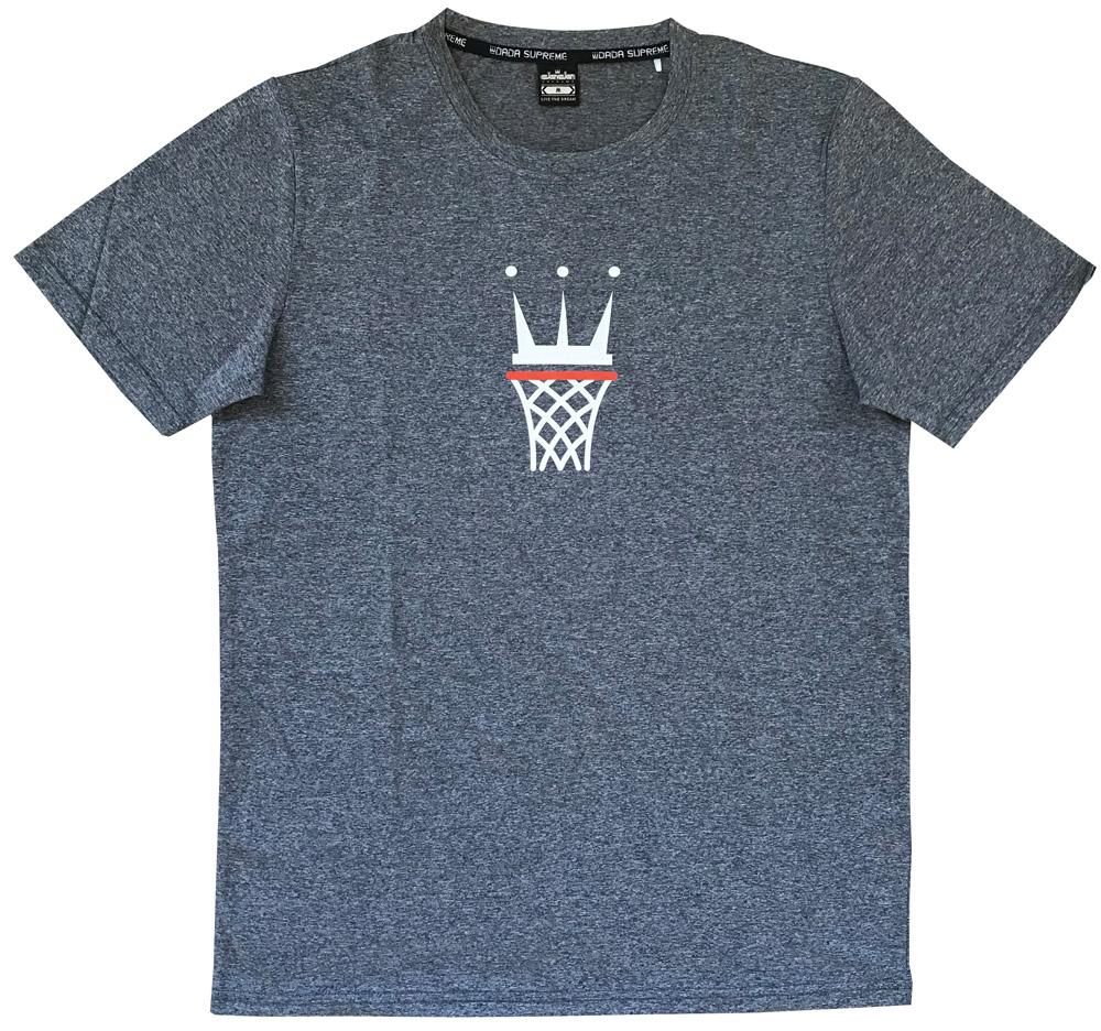 お金を節約 名入れプリント+220円 納期2~5日 DADA Tシャツ CAGE 吸汗速乾生地 販売期間 限定のお得なタイムセール TEE LOGO GRAY