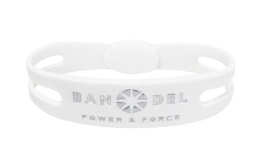 BANDEL Bracelet Metallic White×Silver ブレスレットメタリック 本日限定 物品