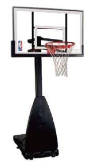 家庭でバスケの練習 3×3イベントに スポルディング バスケットゴール プラチナムポータブル 家庭用 SPALDING ※代引不可