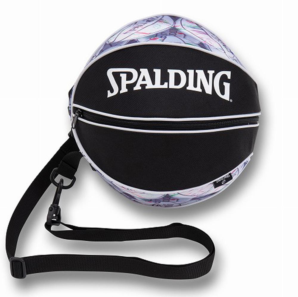 バスケットボールバッグ1球入れ SPADLING製 BALLBAG 激安挑戦中 ブランド買うならブランドオフ マーブルボール スポルディング