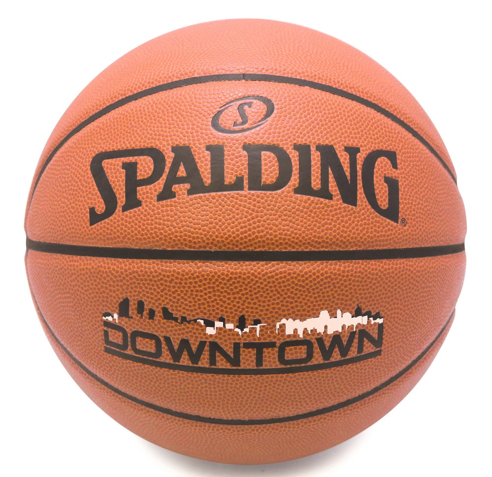 バスケットボール SPALDING DOWNTOWN 合成皮革 正規取扱店 新品■送料無料■ 5号 ダウンタウン