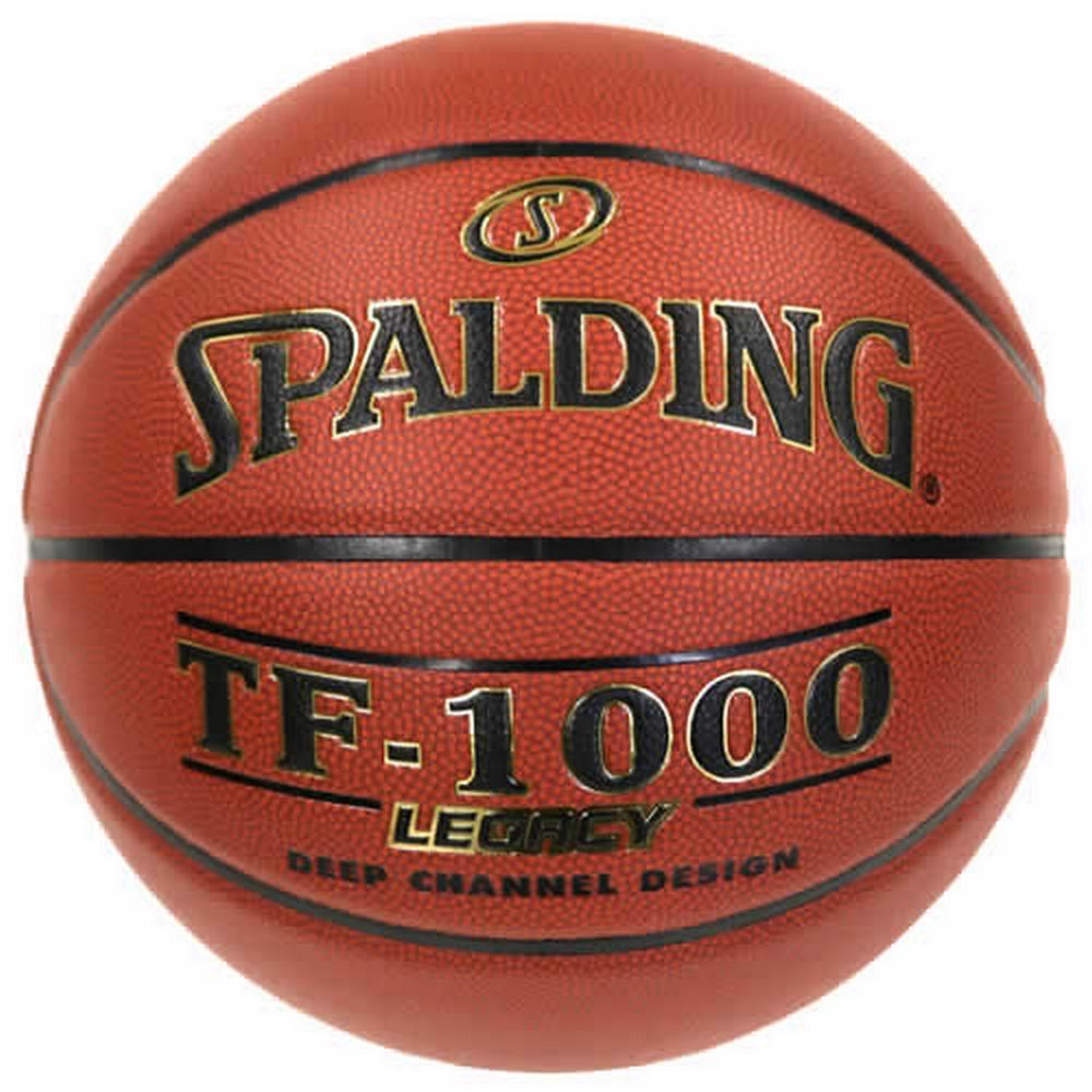 ボール名入れプリント無料 入荷予定 納期2~5日 名入れ可能 付与 バスケットボール SPALDING LEGACY レガシー 合成皮革 7号 TF-1000