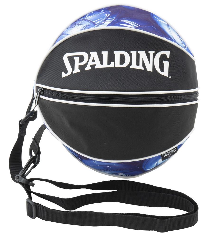 超人気 専門店 バスケットボールバッグ1球入れ SPADLING製 休み BALLBAG スポルディング マーブルブルー