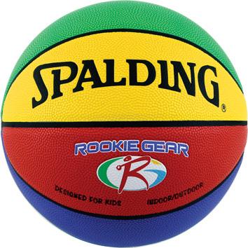 バスケットボール 値下げ SPALDING ROOKIE メーカー公式 GEAR 合成皮革 5号 ルーキーギア