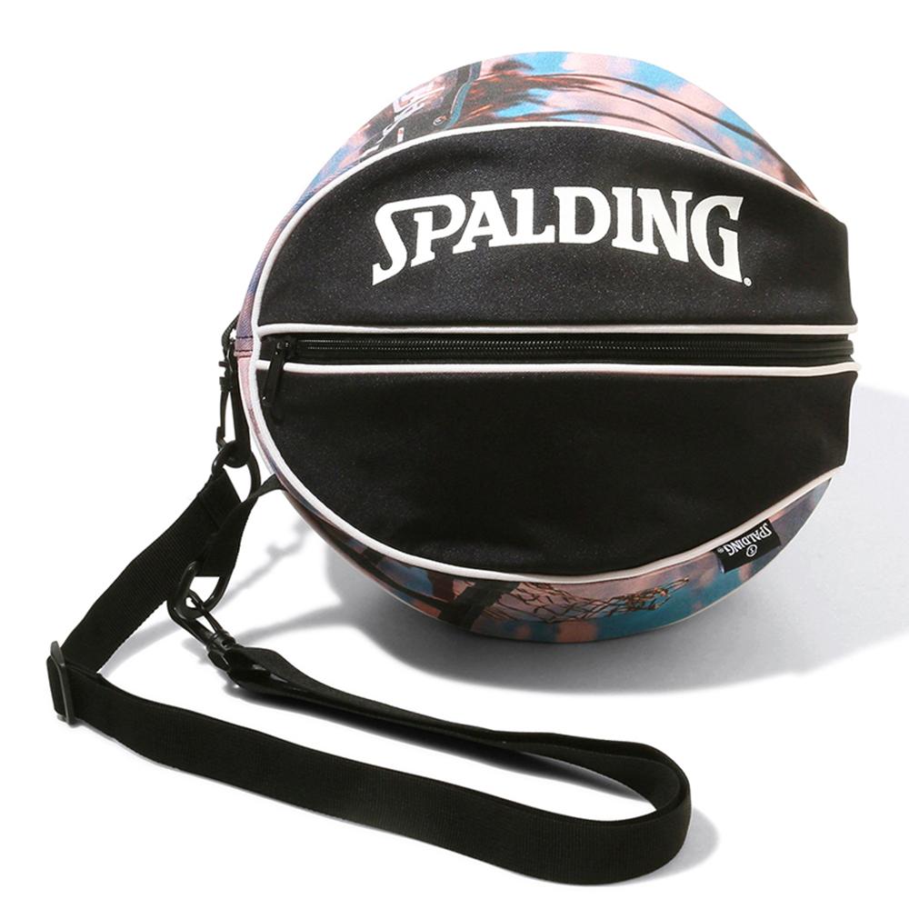 毎日続々入荷 バスケットボールバッグ1球入れ SPADLING製 お見舞い BALLBAG サンセット スポルディング