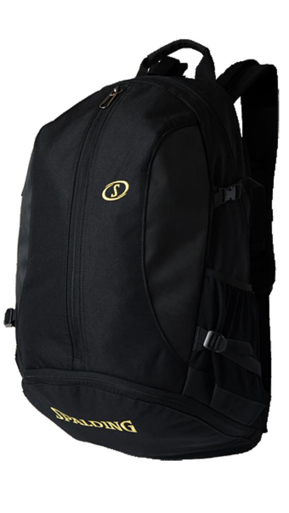バッグ名入れプリント無料 納期2~5日 ジャイアントケイジャー ゴールド 信託 スポルディング BASKETBALL BAG NBA公式球ブランドSPADLING製 Backpack 販売 バックパック