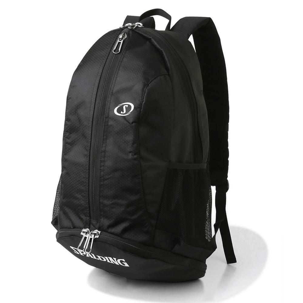 超激得SALE バッグ名入れプリント無料 納期2~5日 バスケット専用バッグケイジャーライト ホワイト 直送商品 スポルディング SPALDING BAG CAGER Backpack バックパック BASKETBALL