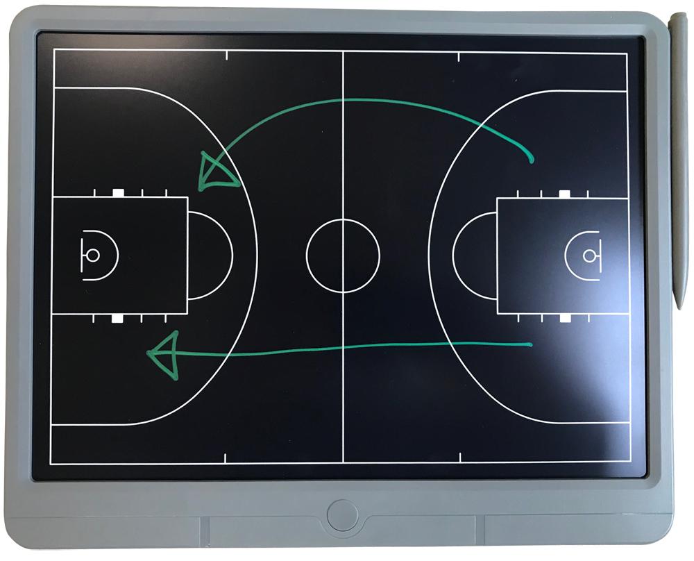 買取 何度も書ける すぐに消せる バスケットボール用液晶手書き作戦ボード AL完売しました