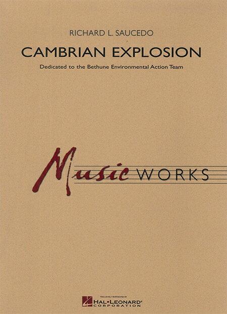 カンブリアン・エクスプローション 作曲:リチャード L.ソーシード Cambrian Explosion【吹奏楽 楽譜セット】