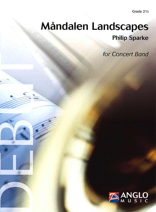 モーンダーレンの風景 作曲:フィリップ・スパーク Mandalen Landscapes 【吹奏楽 楽譜セット】