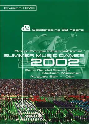 2002 DCI World Championships (Division I Finals)【DVD4枚組】BOD-8001