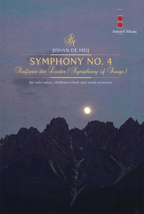 交響曲第4番「歌のシンフォニー」作曲:ヨハン・デメイSymphony No.4 - Symphony for Songs【吹奏楽 フルスコア】