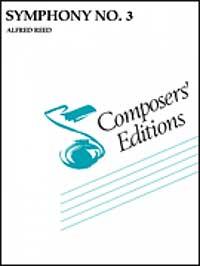 【取寄 約7-14日間】交響曲第3番 作曲:アルフレッド・リード Symphony No.3【吹奏楽 楽譜セット】