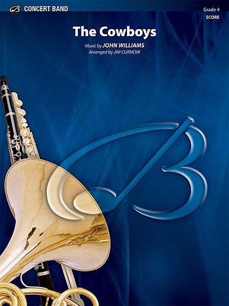 【取寄 約7-14日間】11人のカウボーイ 作曲:ジョン・ウィリアムズ 編曲:ジェームズ・カーナウ The Cowboys【吹奏楽 楽譜セット】